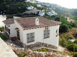 Aanzicht Casa Ronaldo.