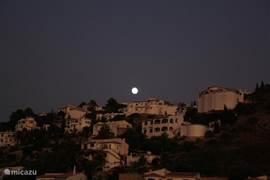 Nacht in Monte Pego.