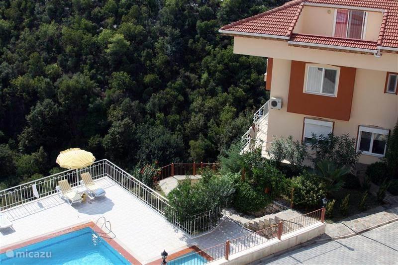 Vakantiehuis Turkije, Turkse Riviera, Kargicak Appartement Barinak (toevluchtsoord)