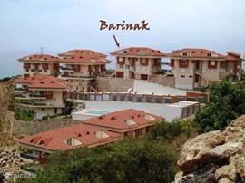 Barinak is gelegen op het complex SeaView-2 in Kargicak