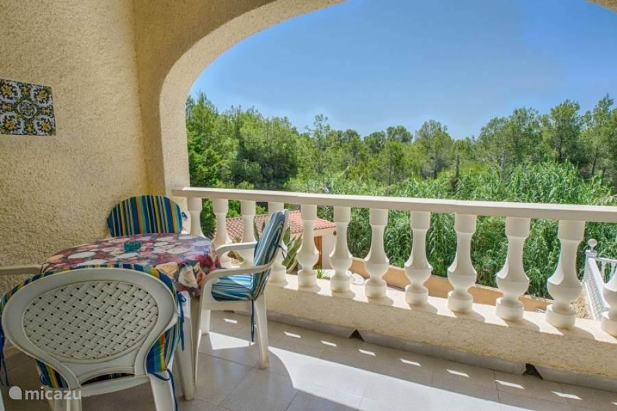 woonkamer balkon