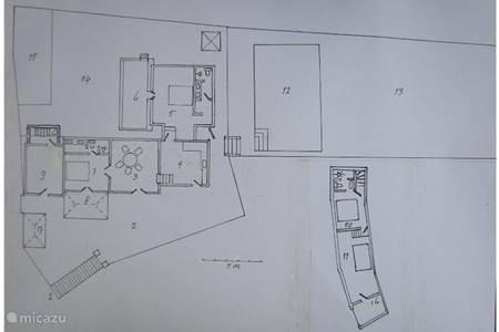 5 Plattegrond van huis en tuin