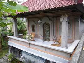 terras van slaapkamer in zijpaviljoen