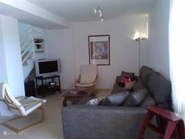 Salon met lounge bank
