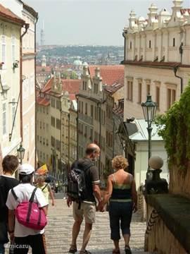 mooie steden; dit is Praag
