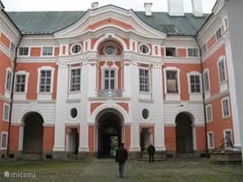 He.t klooster van Broumov