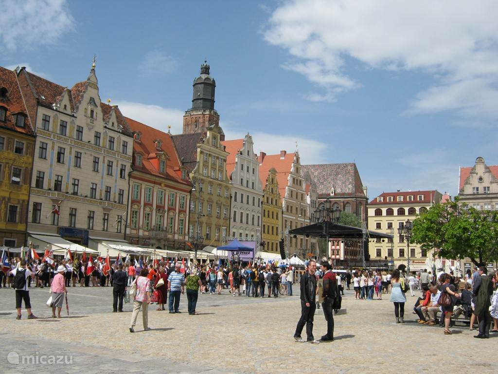 feestdag in het prachtige Wroclaw (PL)