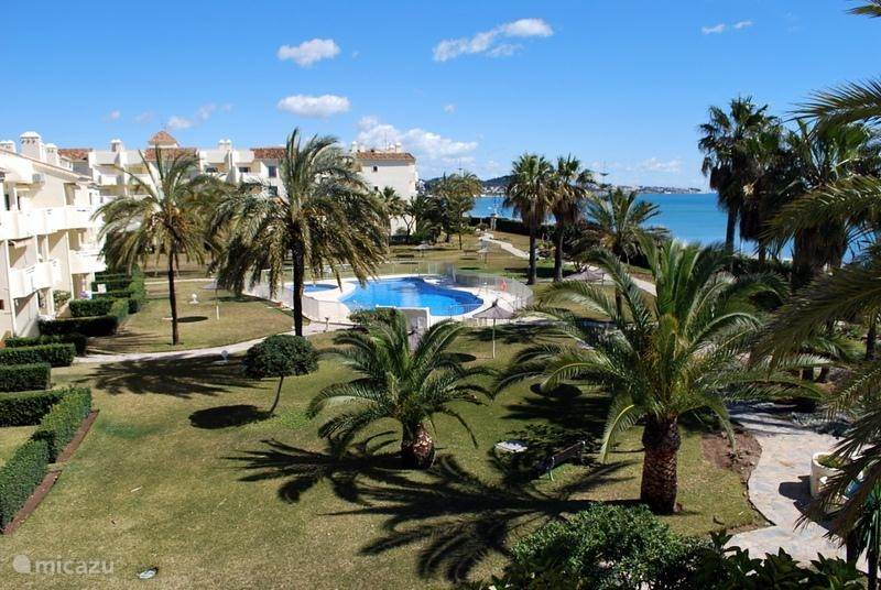 Vacation rental Spain, Costa del Sol, Mijas-Costa apartment Appartement aan zee