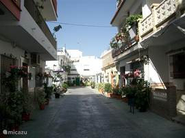 Andalusisch straatje in La Cala