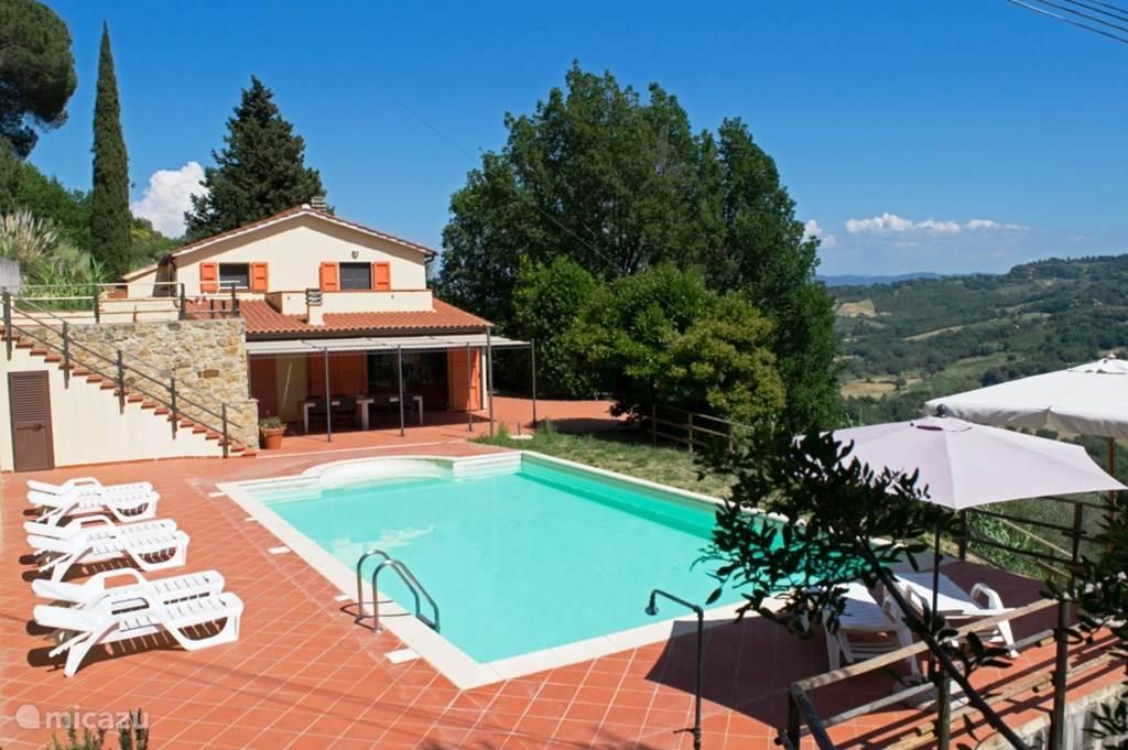 Vakantiehuis Italië, Toscane, Riparbella Vakantiehuis Casa al Pino