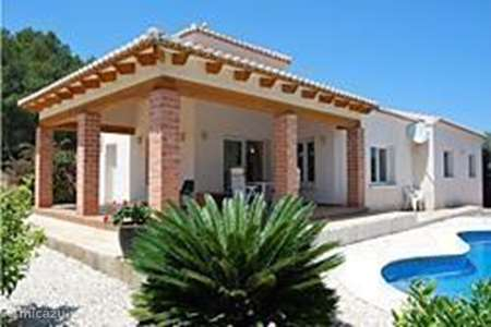 Vacation rental Spain, Costa Blanca, Moraira villa Beni Maurell