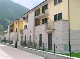 Flat-front villa