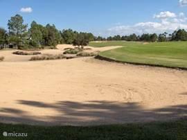 Hole 7 van golfbaan Southern Dunes.