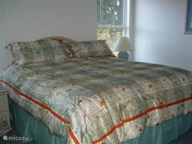 Master slaapkamer.