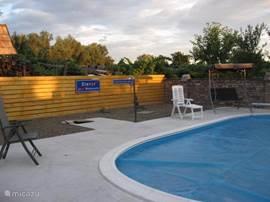 Zwembad met terras