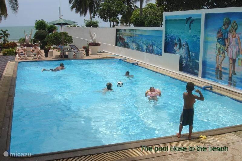 Vakantiehuis Thailand, Centraal-Thailand, Cha-Am Appartement Beach condo Le Lom