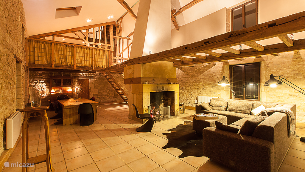 The fireplace in the sitting area is perfect for a glass of brandy after dinner. Try Just try to stay awake.