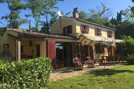 Vakantiehuis Italië, Marche, Corinaldo vakantiehuis Casa d'Oro