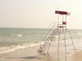 Voor een strandwandeling rijdt u 15 km naar de Adriatische kust (Senigallia)