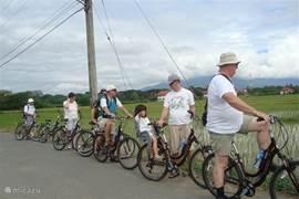 In de omgeving van chiangmai kun je ook mooie fietstochten maken