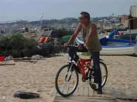 Ook de eigenaar gaat graag een rondje fietsen, 2 fietsen zijn ter beschikking van uw vakantieplezier.
