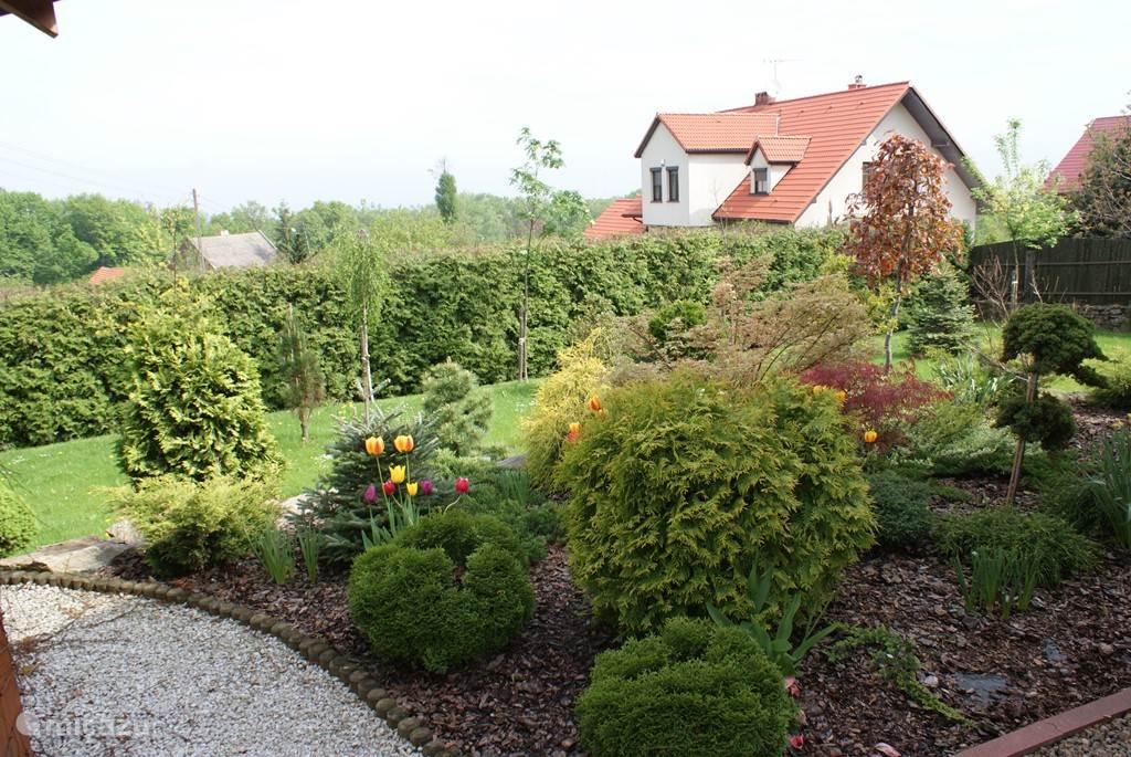 Deel van de grote tuin