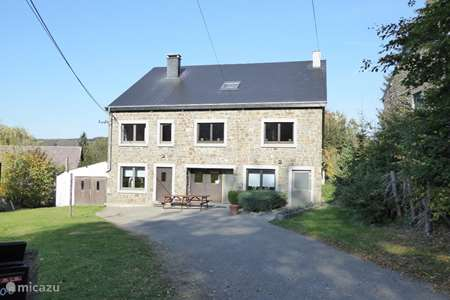 Vacation rental Belgium, Ardennes, Dochamps holiday house La Ferme Dochamps, with charging station