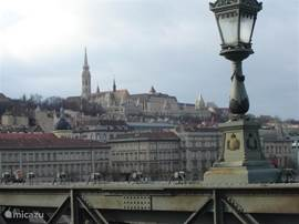 A view of Buda, on the other side of the Danube.