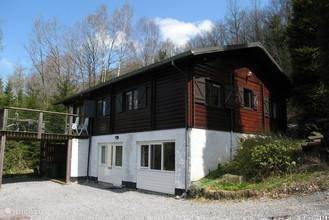 Vakantiehuis België, Ardennen, Manhay chalet Smaragd