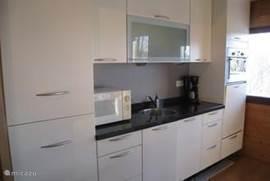 Keuken met moderne apparatuur