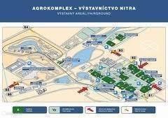 Beurs of Evenement in Nitra of Bratislava