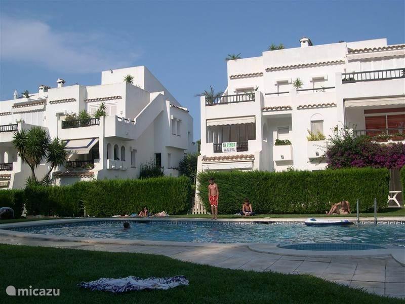 Vakantiehuis Spanje, Costa Brava, Platja de Pals appartement Golf Royal