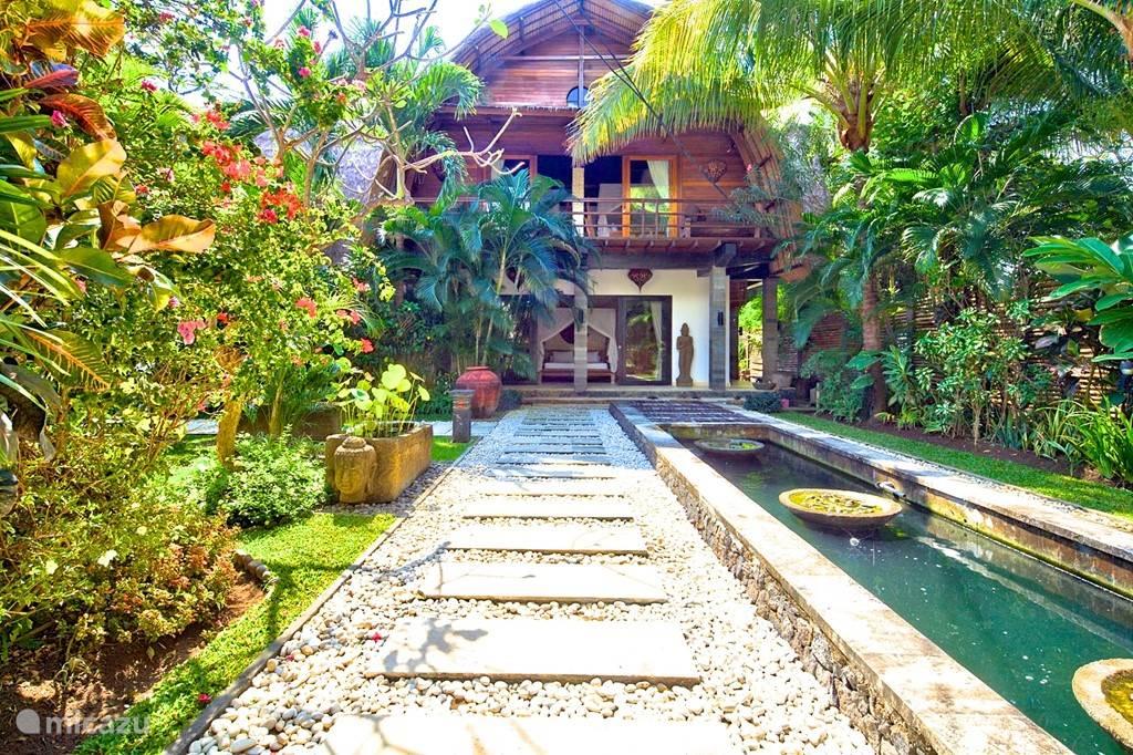 uw tropische tuin