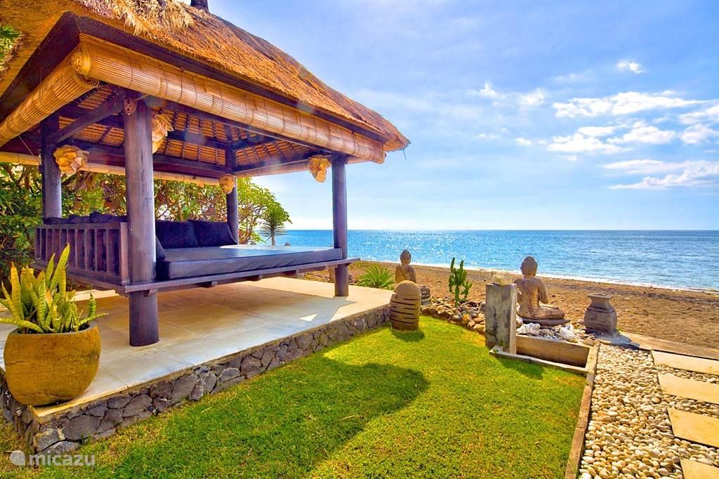lounge plek direct aan zee