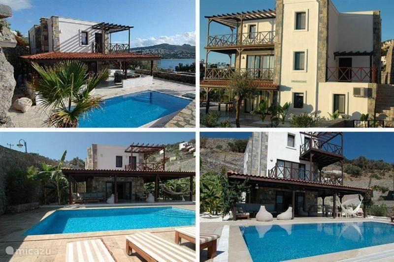 Ferienwohnung türkei ägäis gündogan villa villa azuro privater pool