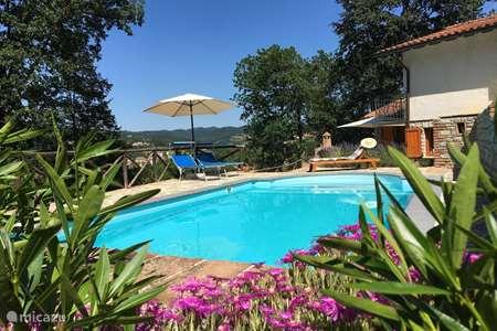 Vakantiehuis Italië, Umbrië, Pietralunga vakantiehuis Casa Belvedere