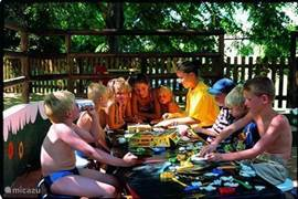 Children's activities in the summer with Dutch leadership