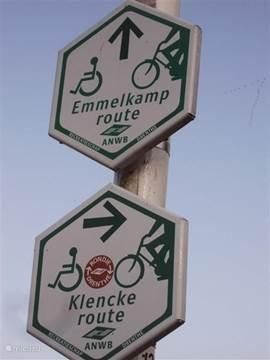 Prachtige landelijke fietsroutes langs de boerderij!