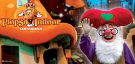Het nieuwe Plopsa Indoor Coevorden op 1 km. Prachtig overdekt nieuw park voor kinderen tot 11 jaar. Kaarten via ons te reserveren. U hoeft geen parkeergeld te betalen u kunt er lopend naar toe.