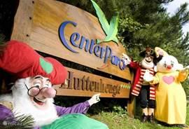 Center Parcs De Huttenheugte en Plopsa Indoor Coevorden zijn op 1 kilometer van de woonboerderij gelegen. Kabouter Plop wijst u de weg.