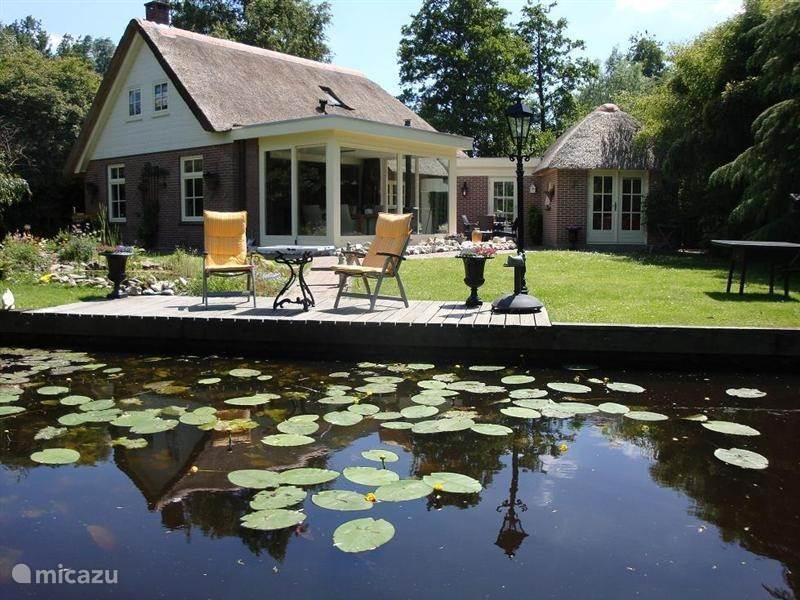 Vakantiehuis Nederland, Overijssel, Ossenzijl vakantiehuis 't Bokje