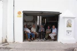 Oud Altea; echte Spaanse mannen....