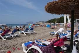Moraira strand