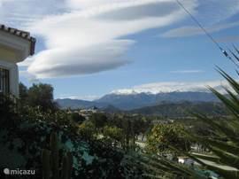 uitzicht op de Sierra de las Nieves