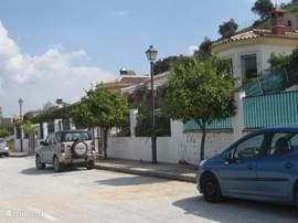 Straat waar de woning ligt