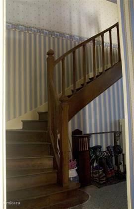 Luie trap naar eerste etage