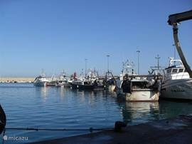 Vissershaven van Javea.