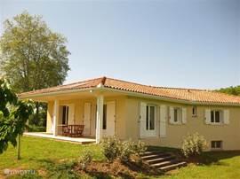 Villa les quatre saisons ligt op een perseel van 3000 m2, privacy gegarendeerd!