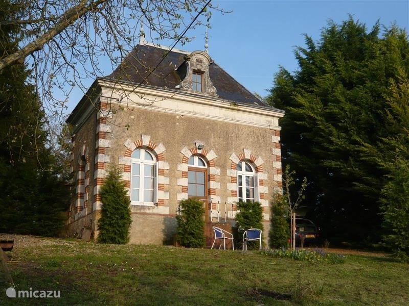 Vacation rental France, Loire, Dissay sous Courcillon - holiday house Le Pavillon de Vernay