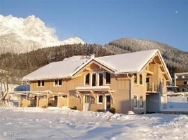Apartments Solfelden in Winter.